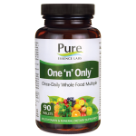 Pure Essence: One 'n' Only Once-Daily Whole Food Multiple (90 Tabs)