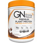 Growing Naturals: Organic Brown Rice Protein Powder - Chocolate Power (16.8 oz Pwdr)