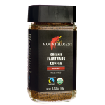 Mount Hagen: Organic Fairtrade Coffee - Instant (Freeze-Dried) (3.53 oz Jar)