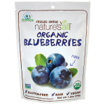 Nature's All Foods: Organic Freeze-Dried Blueberries (1.2 oz Pkg)