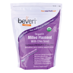 Beveri: Organic Milled Flaxseed with Chia Seed (14 oz Pkg)