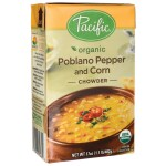 Pacific Natural Foods: Organic Poblano Pepper and Corn Chowder (17 oz Pkg)