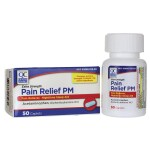 Quality Choice: Pain Relief PM - Extra Strength (50 Cplts)