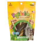 Indigenous Pet Products: Pegetables Dental Chews for Dogs - Medium (8.7 oz Bag(s))