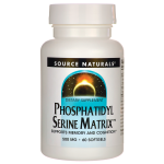Source Naturals: Phosphatidyl Serine Matrix (500 mg 60 Sgels)