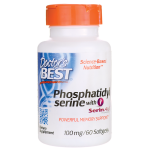 Doctor's Best: Phosphatidyl Serine with SerinAid (100 mg 60 Sgels)
