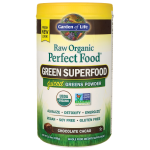 Garden of Life: Raw Organic Perfect Food Green Superfood - Chocolate Cacao (11.9 oz Pwdr)