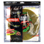 Green Leaf Foods: Raw Wraps - Spinach (5 Ct)