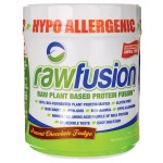 San Nutrition: RawFusion Plant Based Protein - Peanut Chocolate Fudge (16.5 oz Pwdr)