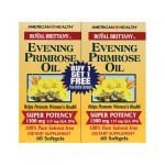 American Health: Royal Brittany Evening Primrose Oil - Twin Pack (1,300 mg 2 - 60 Sgels)