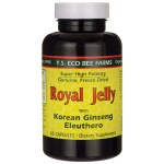 Y.S. Eco Bee Farms: Royal Jelly with Korean Ginseng and Eleuthero (65 Caps)