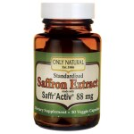 Only Natural: Saffron Extract made with Saffr'Activ (88 mg 30 Veg Caps)