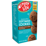 Enjoy Life: Soft Baked Cookies - Double Chocolate Brownie (6 oz Box)