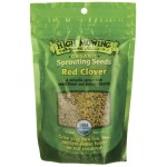 High Mowing Organic Seeds: Sprouting Seeds Red Clover (4 oz Pkts)