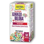 Natural Balance: Super Ginkgo Biloba Plus Gotu Kola (50 Caps)