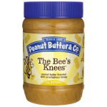 Peanut Butter & Co: The Bee's Knees Peanut Butter (16 oz Jar)