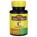 Nature Made: Timed Release Vitamin C with Rose Hips (1,000 mg 60 Tabs)
