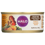 Halo, Purely For Pets: Turkey & Chickpea Recipe for Small Breed Dog (5.5 oz Can)