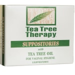 Tea Tree Therapy: Vaginal Suppositories with Tea Tree Oil (6 Ct)