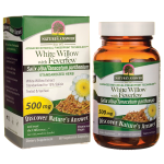 Nature's Answer: White Willow with Feverfew (500 mg 60 Veg Caps)