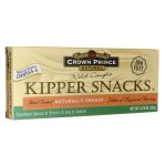 Crown Prince: Wild Caught Kipper Snacks (3.25 oz Can)