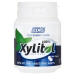 Epic Dental: Xylitol Sweetened Peppermint Mints (180 Ct)